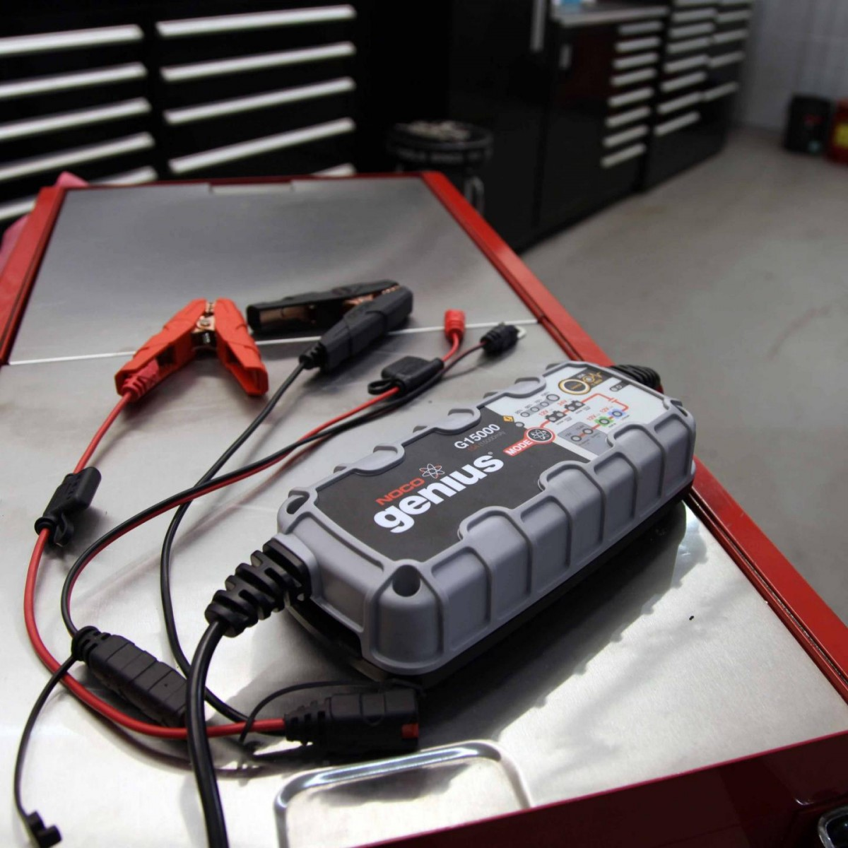 NOCO - 15A Battery Charger with Engine Start - G15000