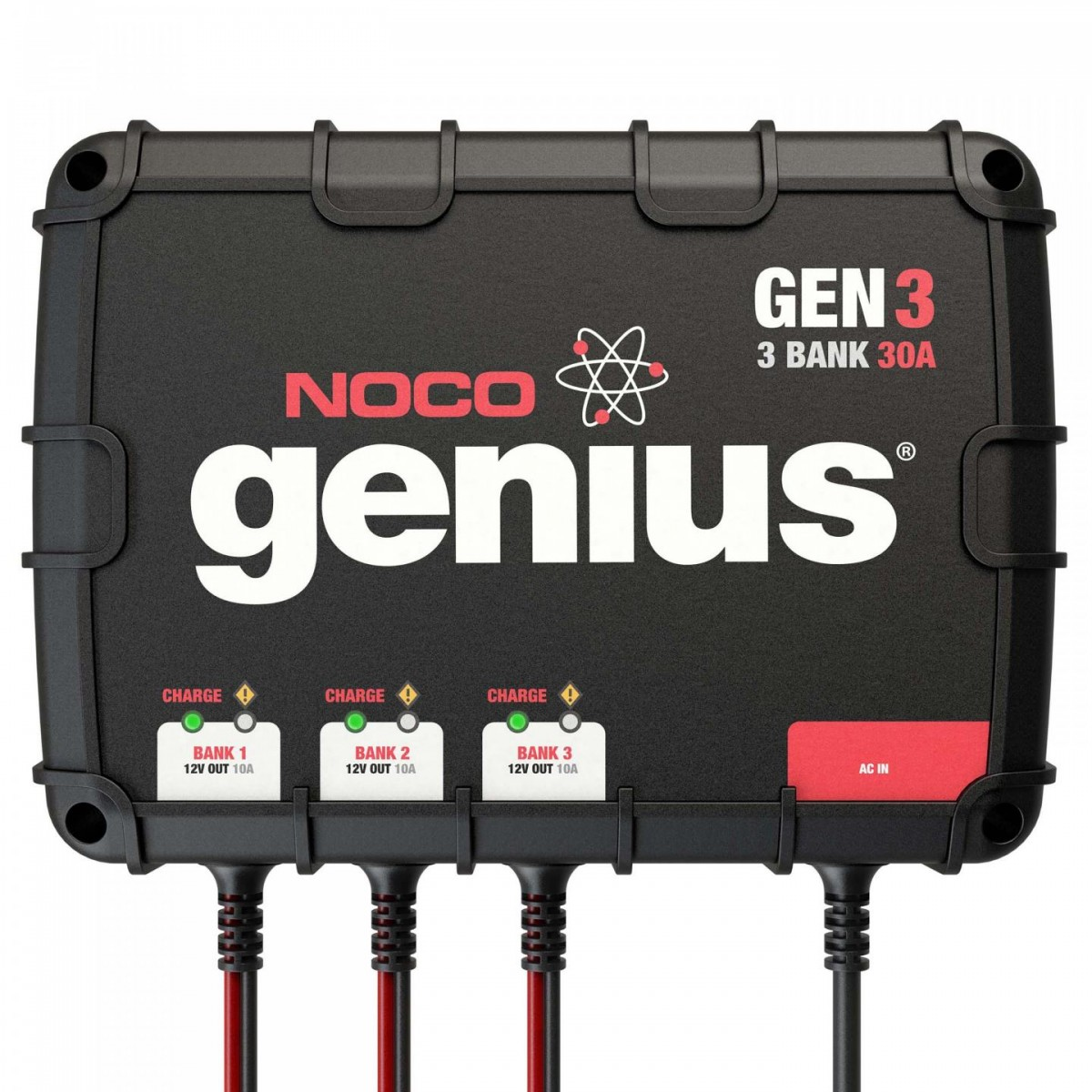 Noco 3 Bank 30a On Board Battery Charger Gen3 Marine Wiring Diagram