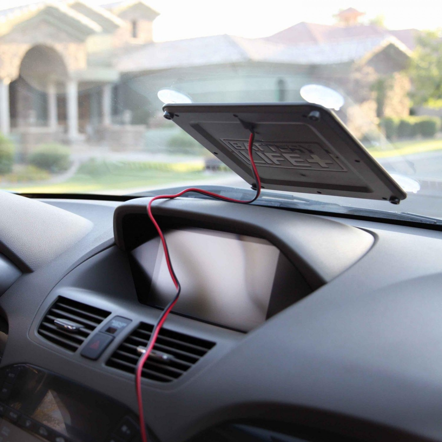 how to use solar for my car battery