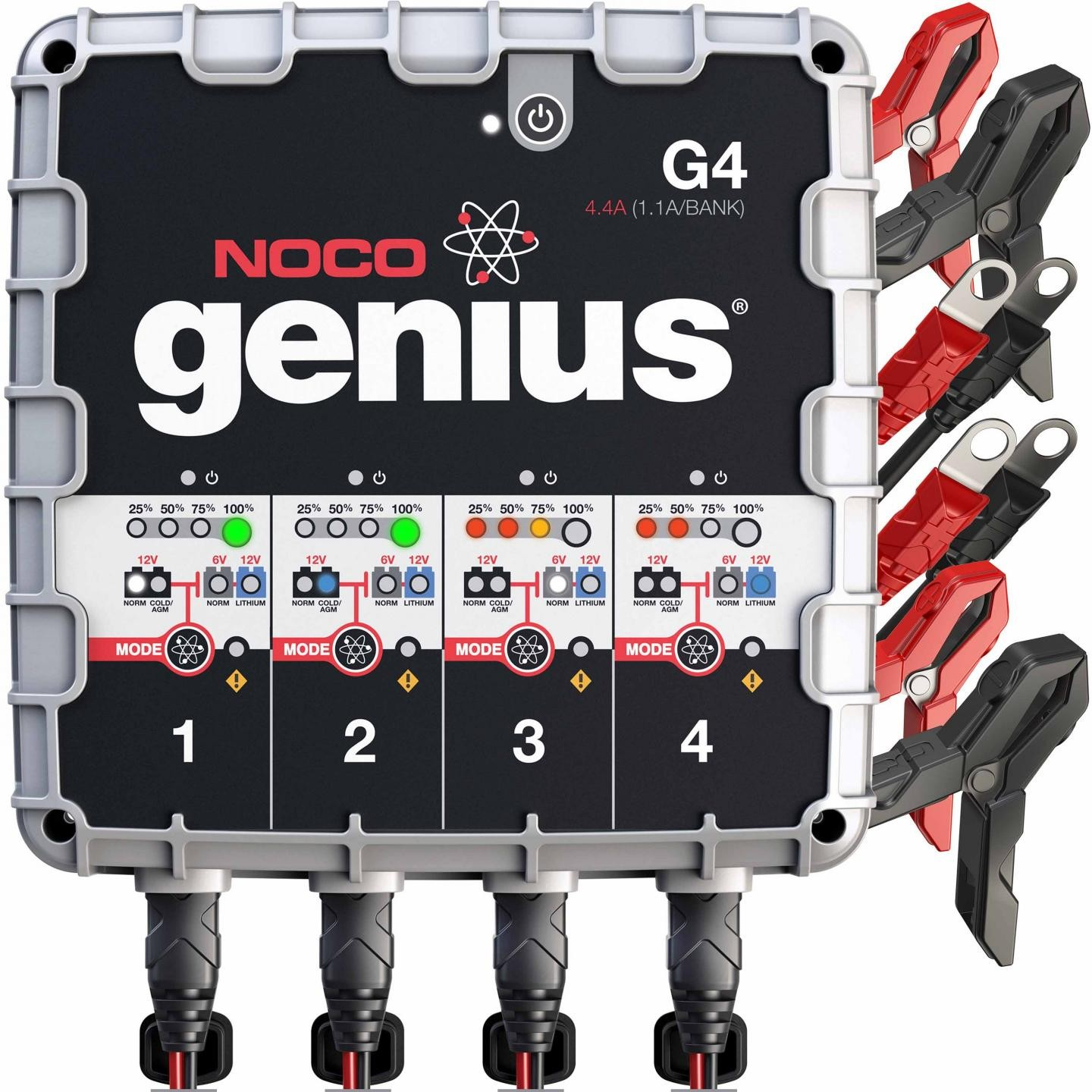 Noco Multi Purpose Battery Chargers Following Circuit Shows A Simple Automatic 6 Volt 4 To 10 Ah