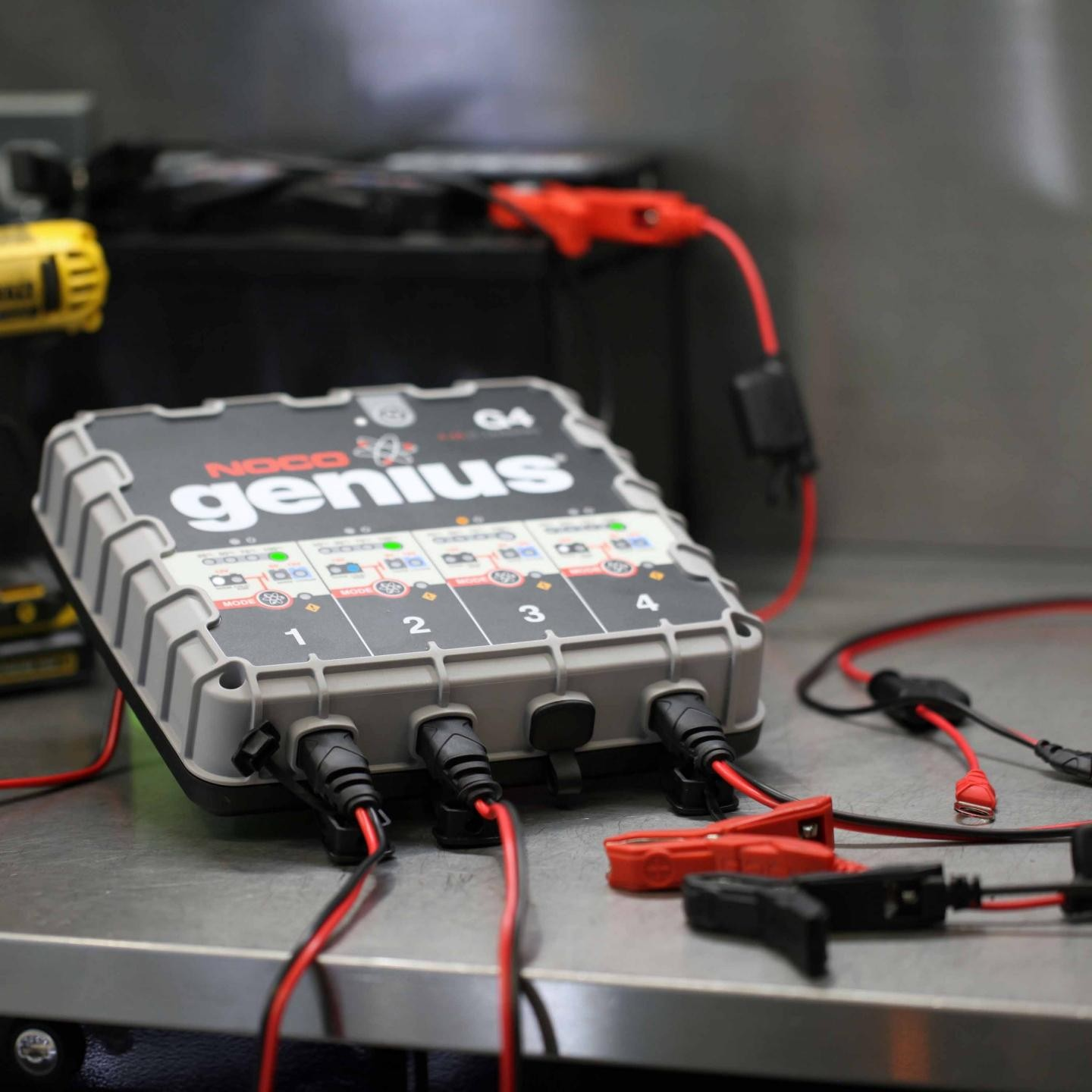 noco 4 4a 4 bank battery charger and maintainer g4 prevnext