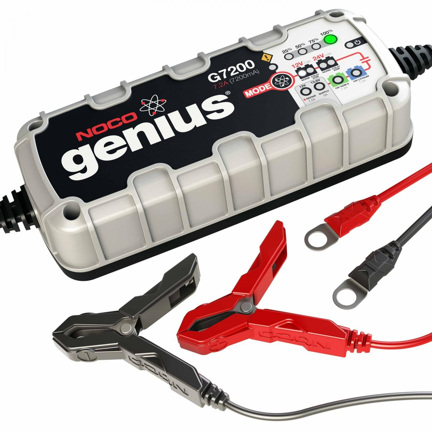 Noco 72a Battery Charger And Maintainer G7200 Lightweight 12v Circuit Diagram With Auto Cut Off 24v Ultrasafe