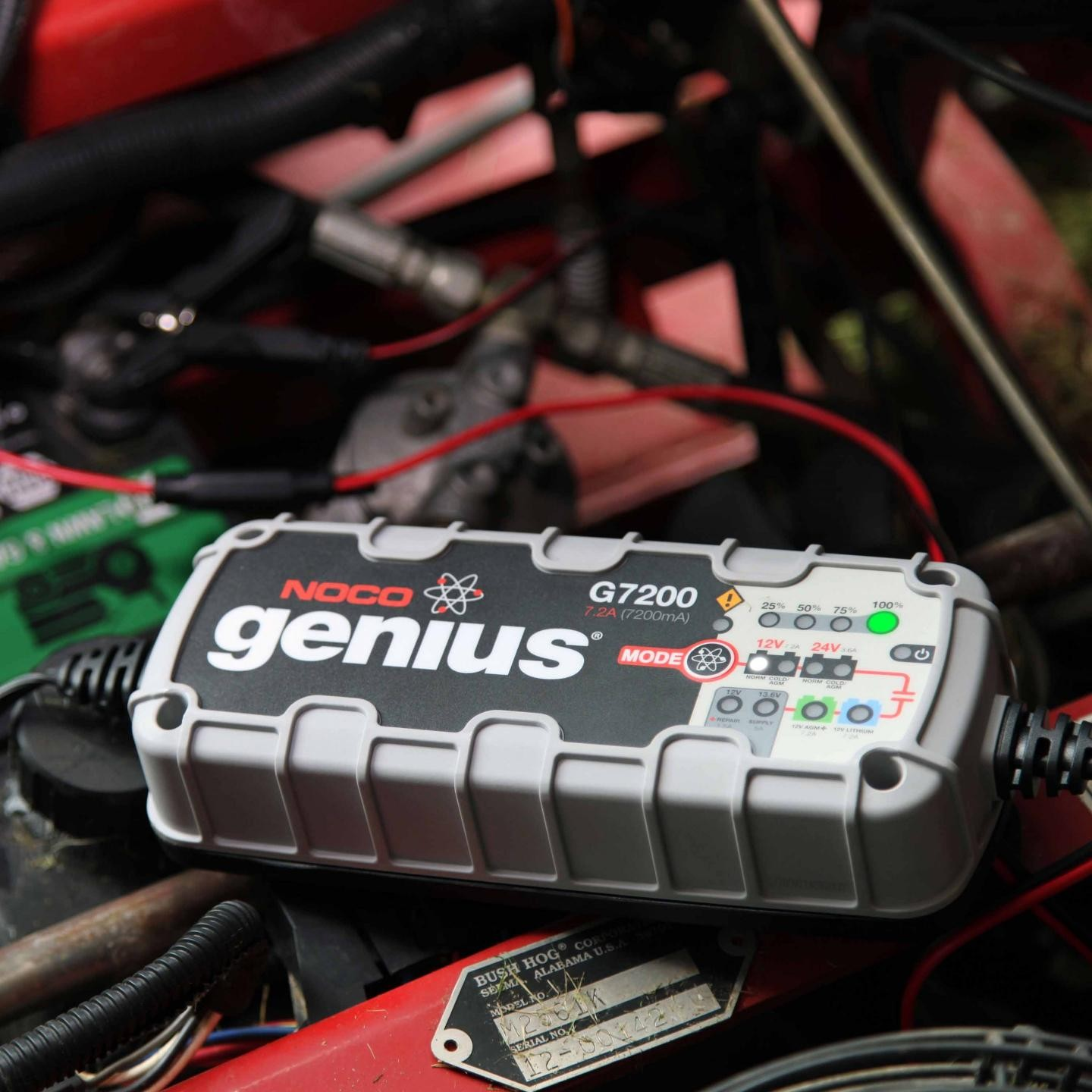 Noco 72a Battery Charger And Maintainer G7200 15a Car Shortcircuit Protection Also Used For Motor 12v 24v Ultrasafe