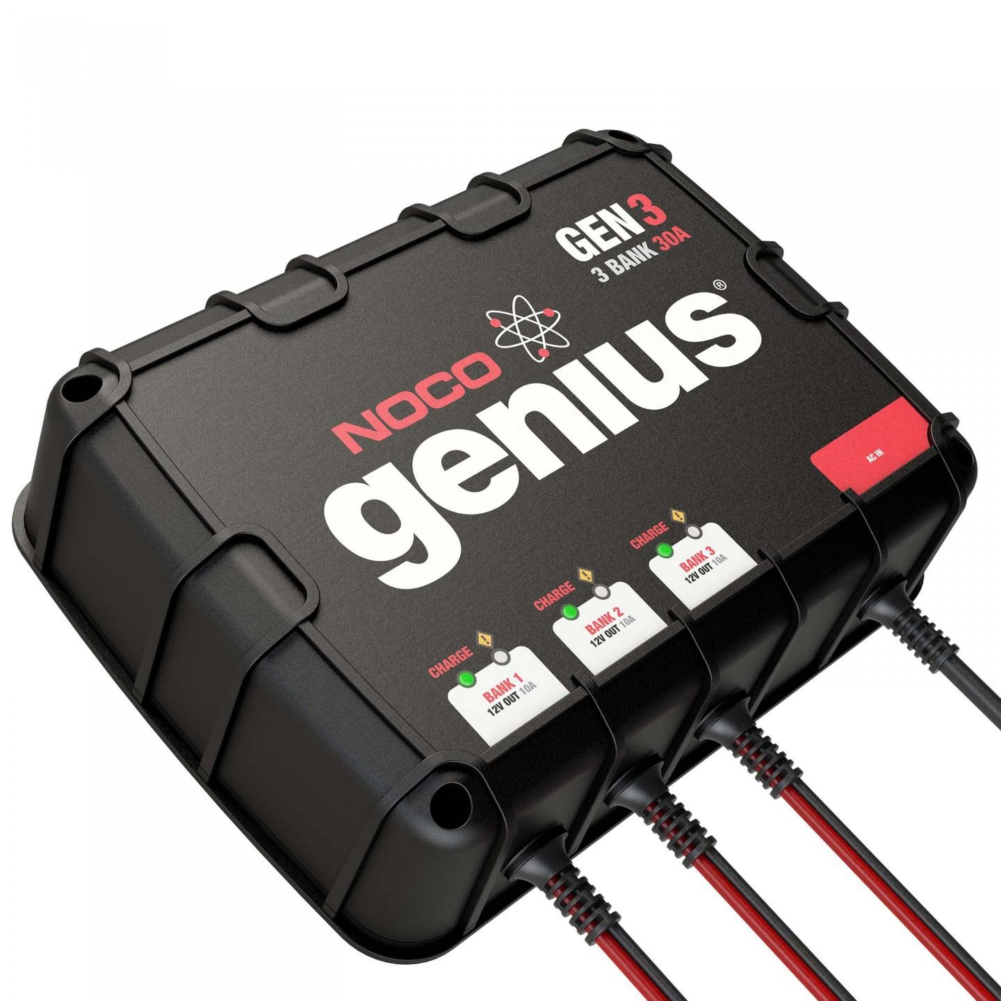 GEN3 3-Bank 30A On-Board Battery Charger