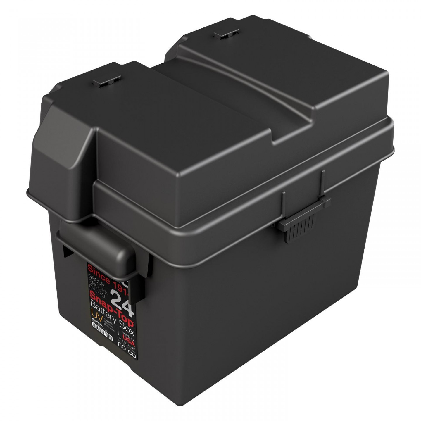 HM300BKS Group 24 Snap Top Battery Box
