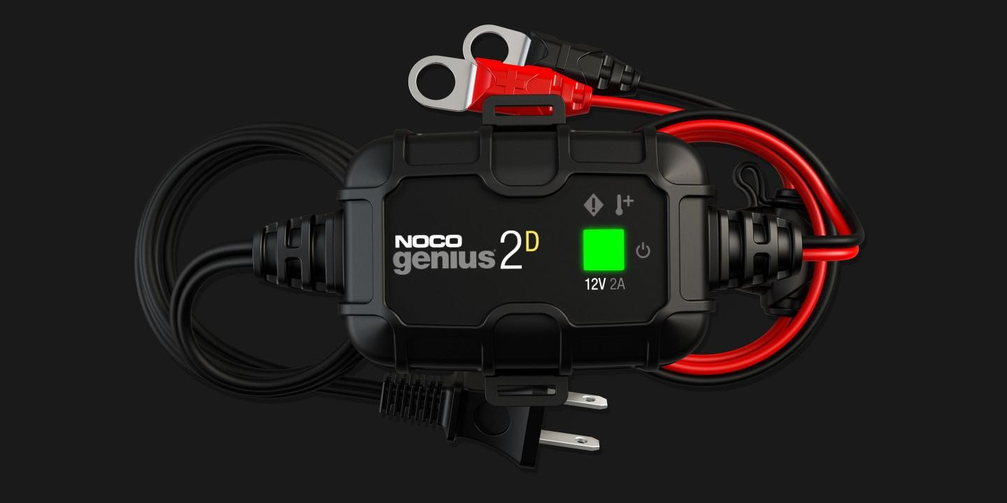 Noco 2a Direct Mount Battery Charger And Maintainer Genius2d 6v Lead Acid Car With Short Circuit Protection 12v