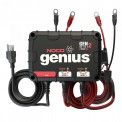 NOCO Genius GENM2 2-Bank 8 Amp Waterproof On-Board Marine Battery Charger