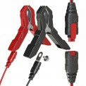 NOCO Genius G750 6V/12V Portable Automatic Car Battery Trickle Charger Clamps and Eyelet Connectors