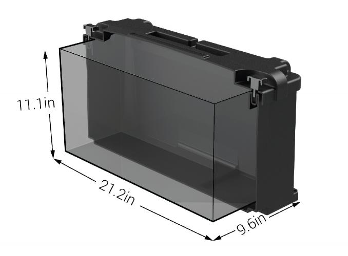 noco 4d commercial battery box hm408. Black Bedroom Furniture Sets. Home Design Ideas