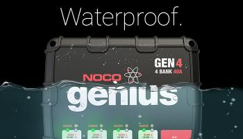 NOCO Genius GEN 12-Volt Waterproof On-Board Battery Charger For Boats, Trolling Motors, Vehicles, Equipment, And More.