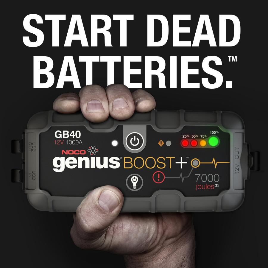 Jump starting completely reinvented. UltraSafe lithium jump starters for cars, trucks, motorcycles and more.