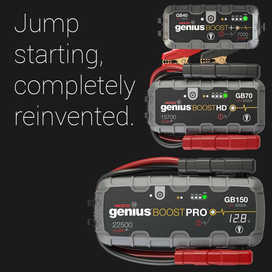 Noco Lithium Jump Starters Battery Chargers Amp More