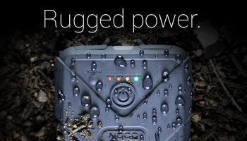 Rugged, Waterproof Micro USB External Battery Power Pack Charger For Solar, iPhone and GoPro.